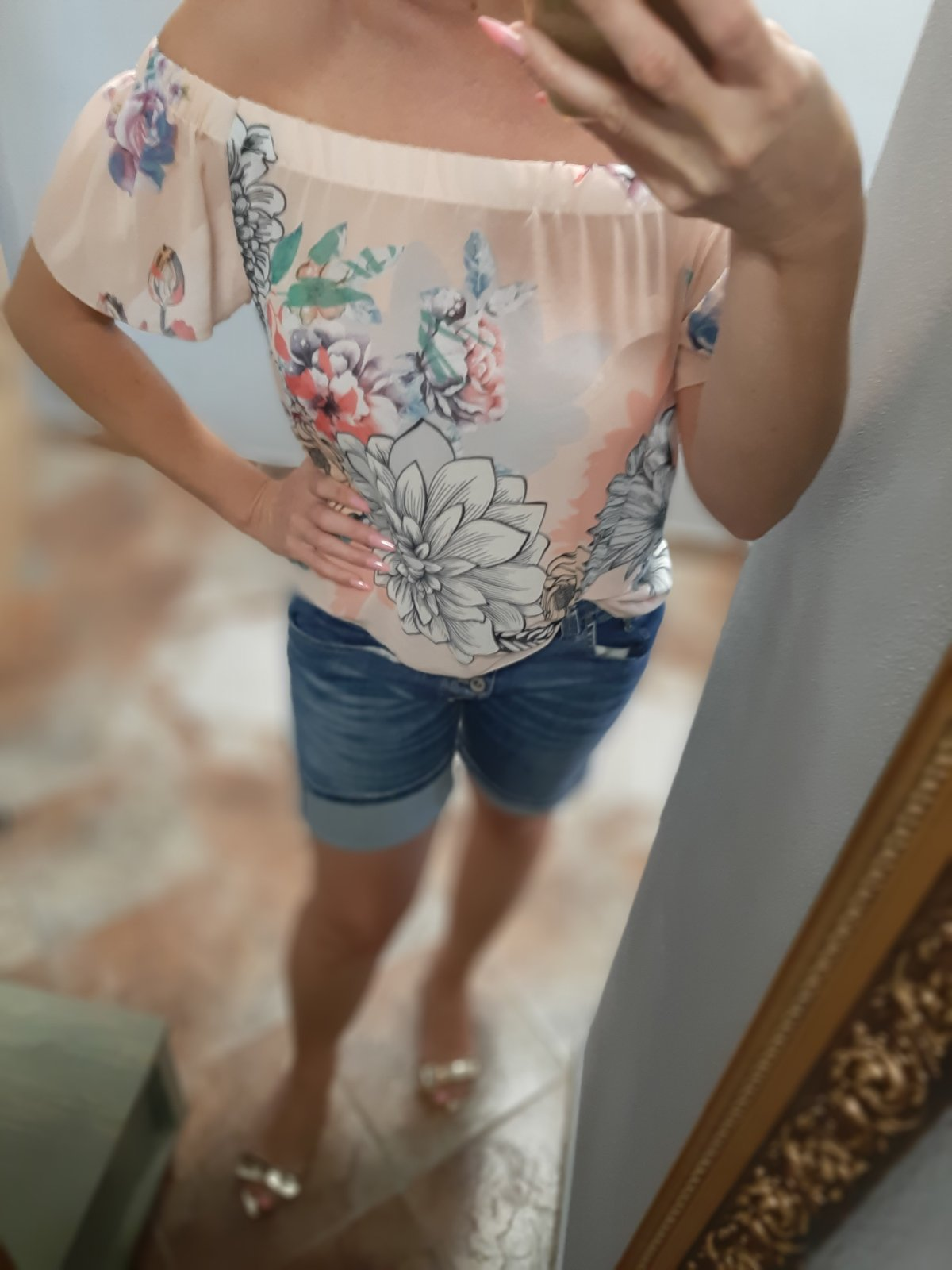 Spoločenska bluzka  - Obrázok č. 1
