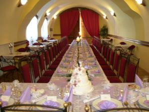 svatebni tabule/ table setting