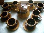 keramický set,