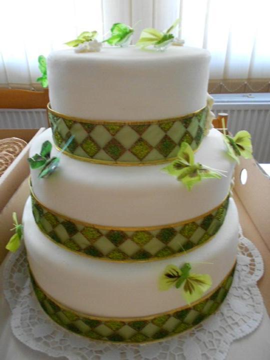 Svadobná torta a zákusky - Obrázok č. 8