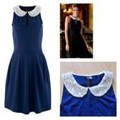 Modré šaty, 42
