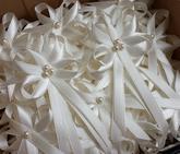 Ivory vývazky s perličkou