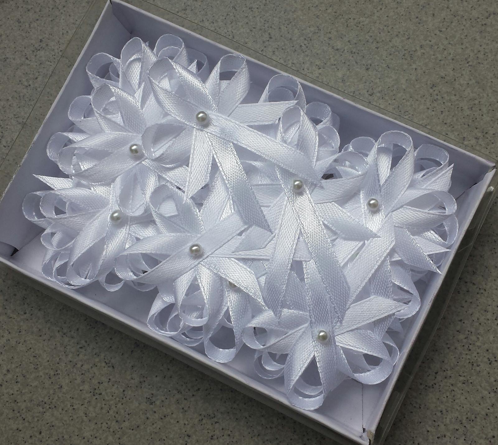 Vývazky - Bílé vývazky