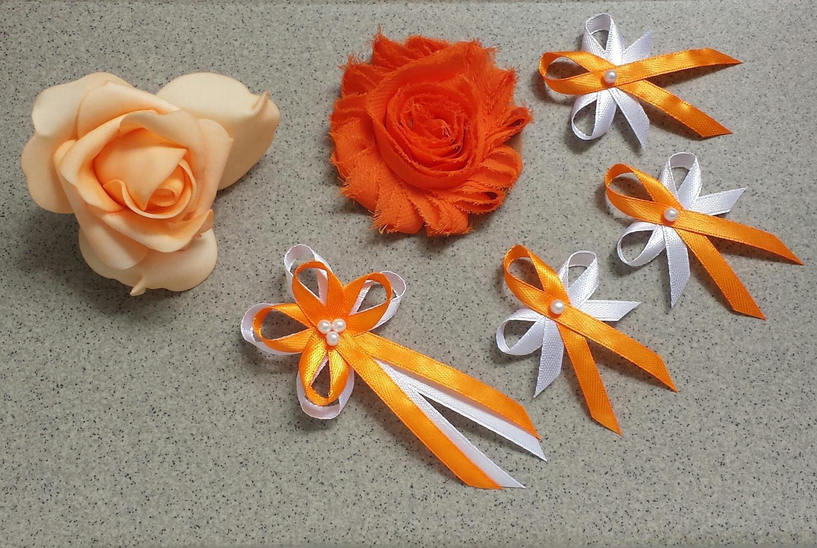 Vývazky - Oranžové vývazky