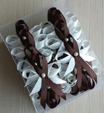 Chocolate & ivory