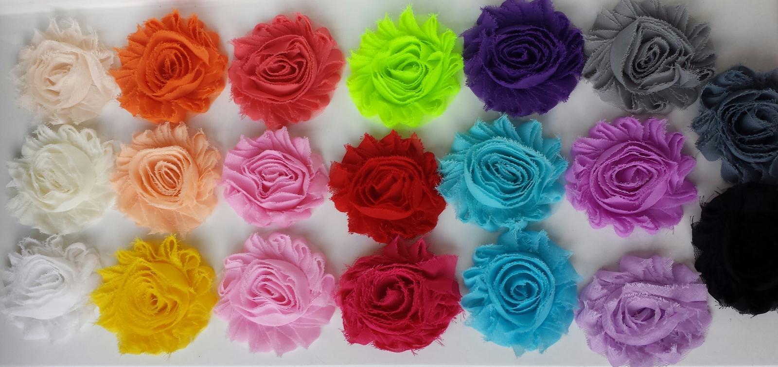 Polštářky pod prstýnky - Barevne kvetinky nejen na polstarky