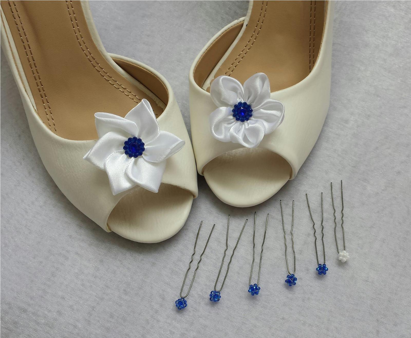 Klipy na boty barva a tvar dle přání - Bilomodre na prani