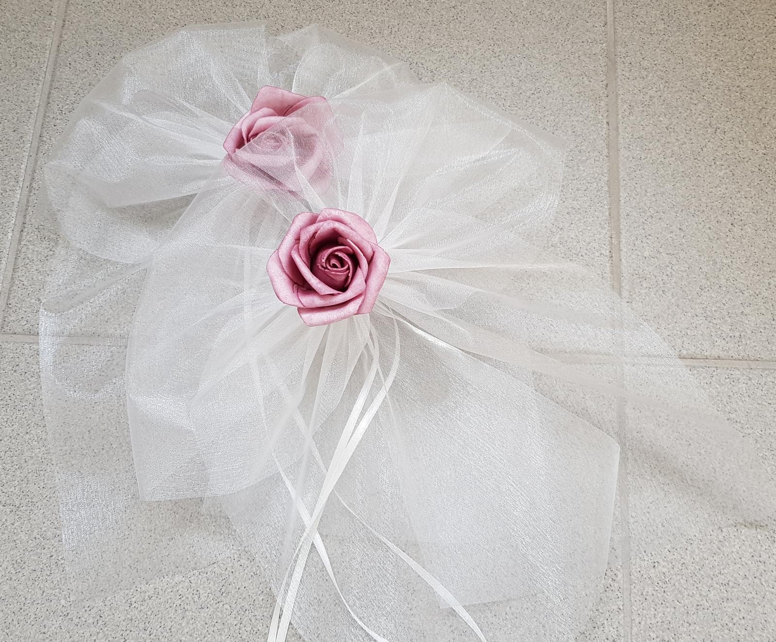 Svatební dekorace na auta - Obrázek č. 651