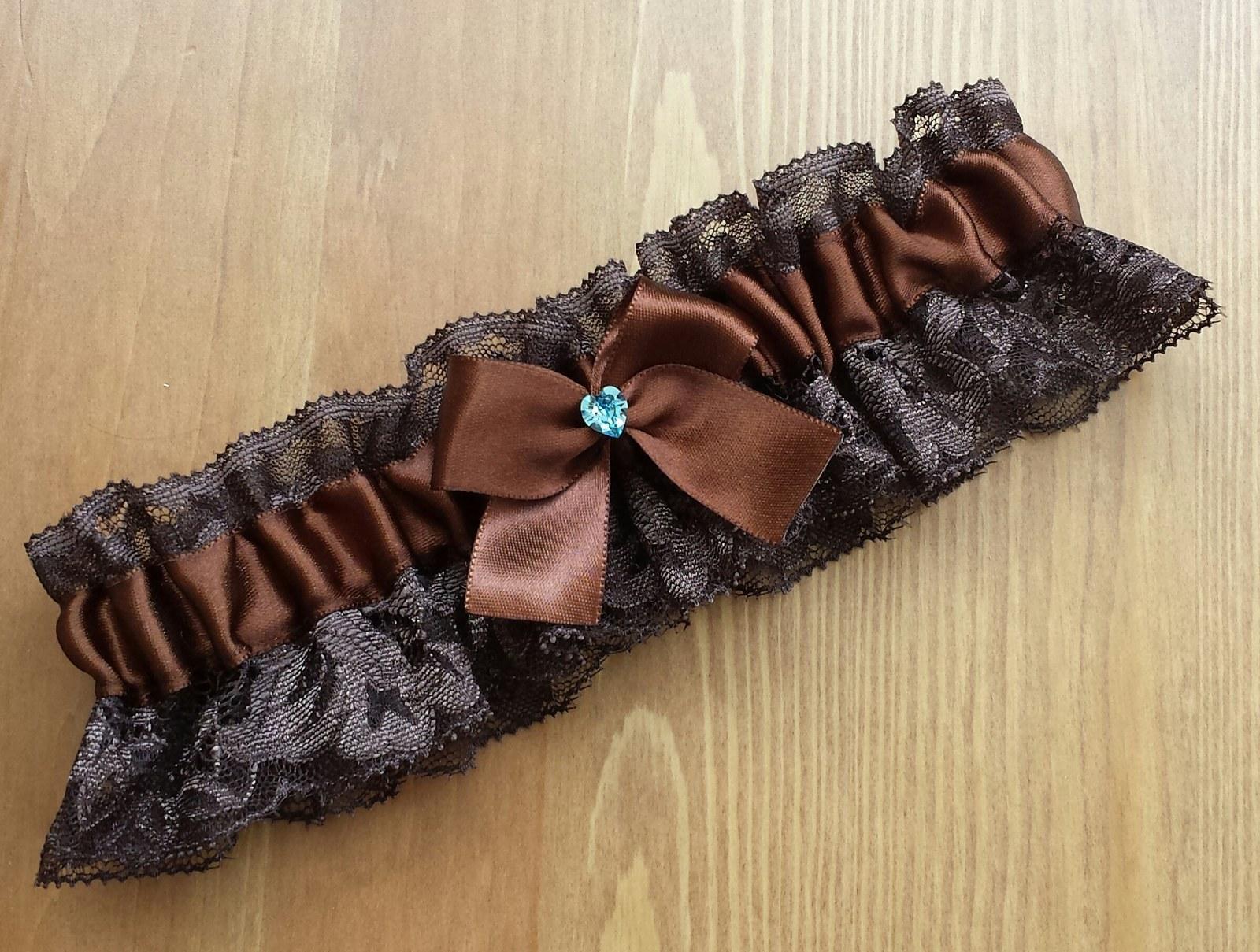 Krajkový čokoládový SW podvazek - Obrázek č. 1