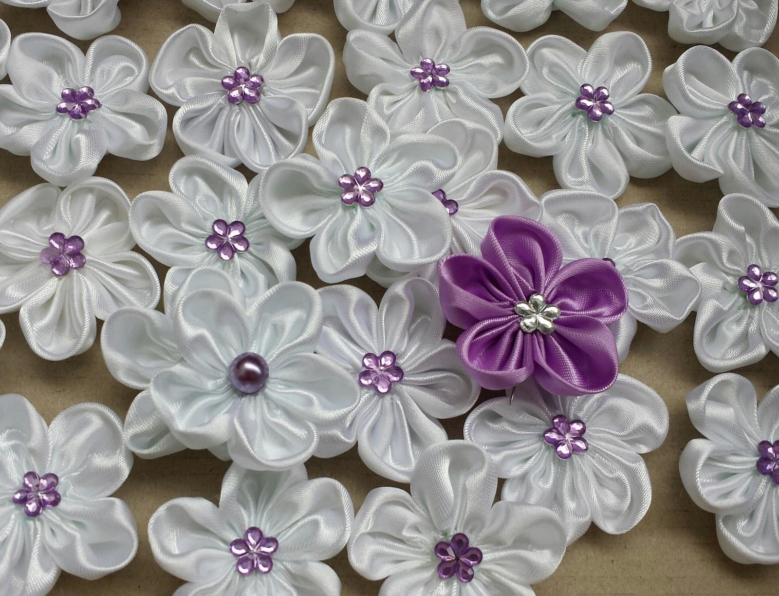 Luxusní lila pásek se SW srdíčkem - Obrázek č. 2