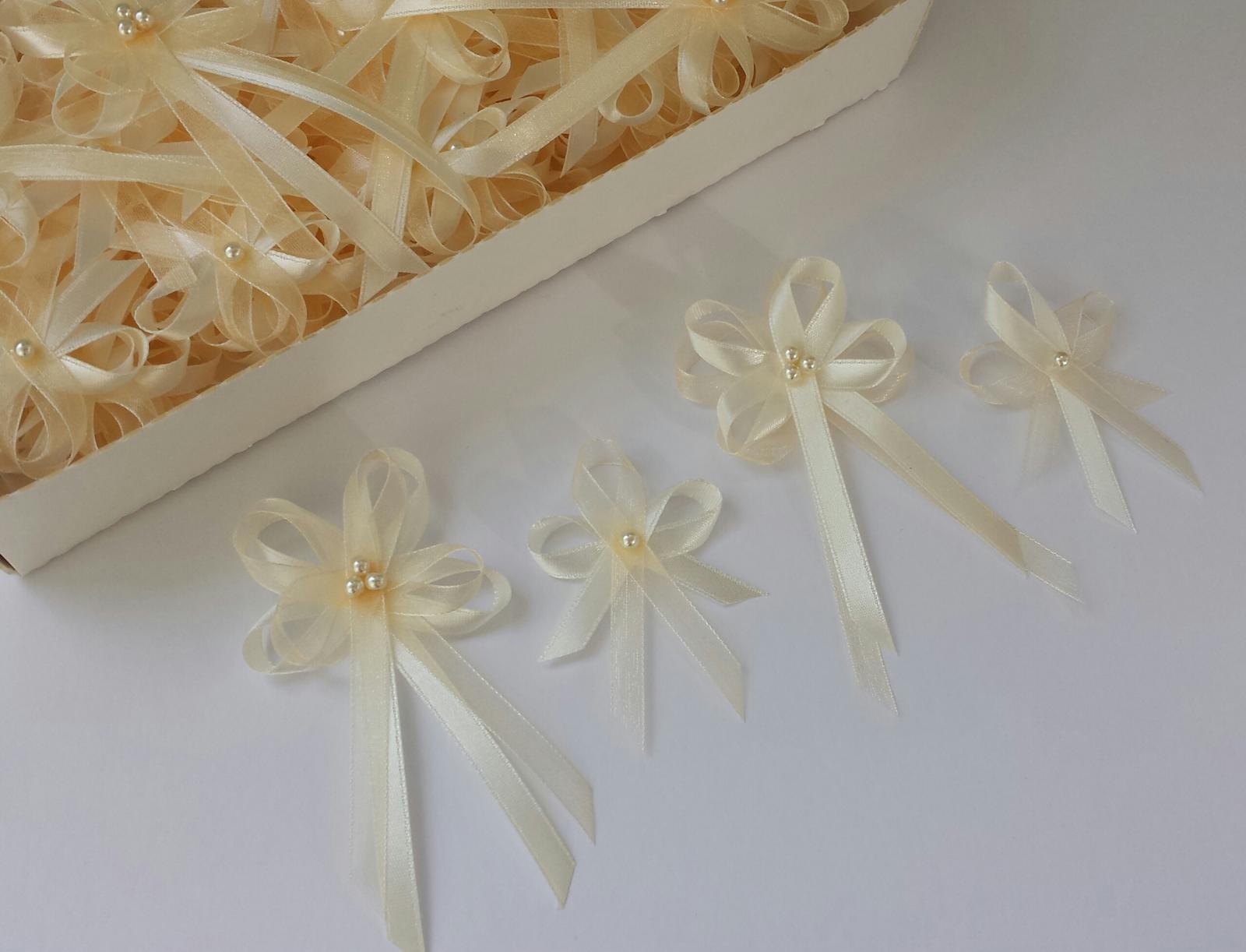 Champagne/ivory vývazky - Obrázek č. 1