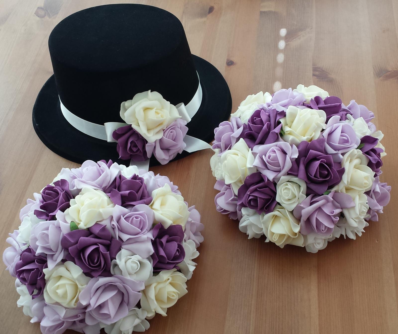 Klipy na boty pro nevěstu-bílá šifonová aplikace - Obrázek č. 4