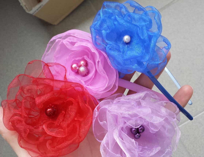 Čelenka květinková - Výprodej - Obrázek č. 1