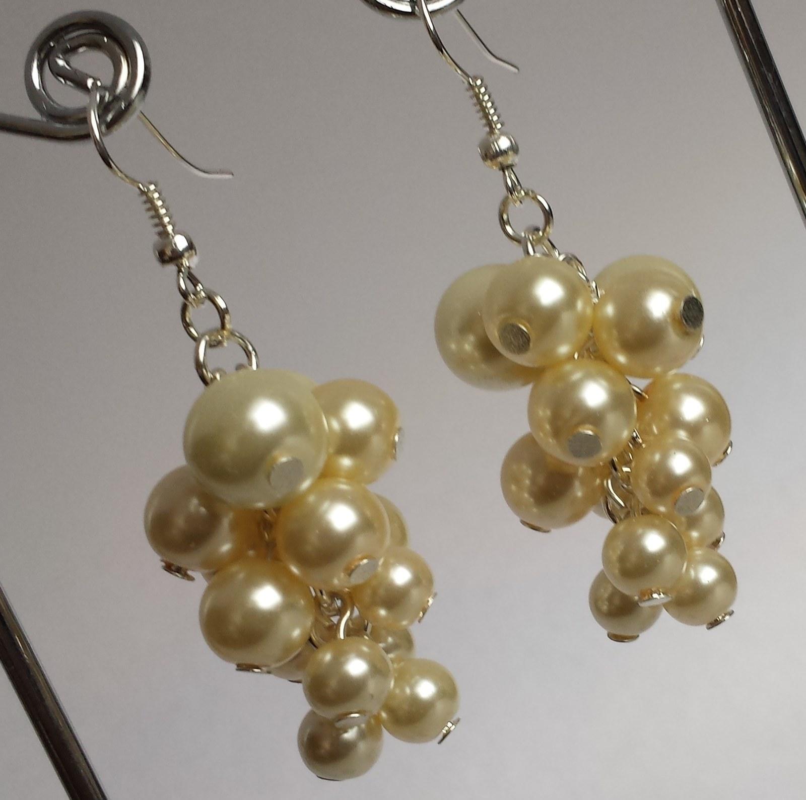 """Svatební náhrdelník+naušnice """"Michele"""" ivory/ bílá - Obrázek č. 2"""