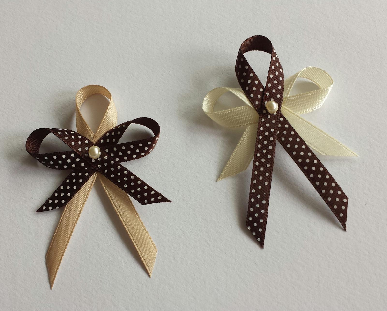 Puntíkaté čokoládové vývazky - Obrázek č. 1