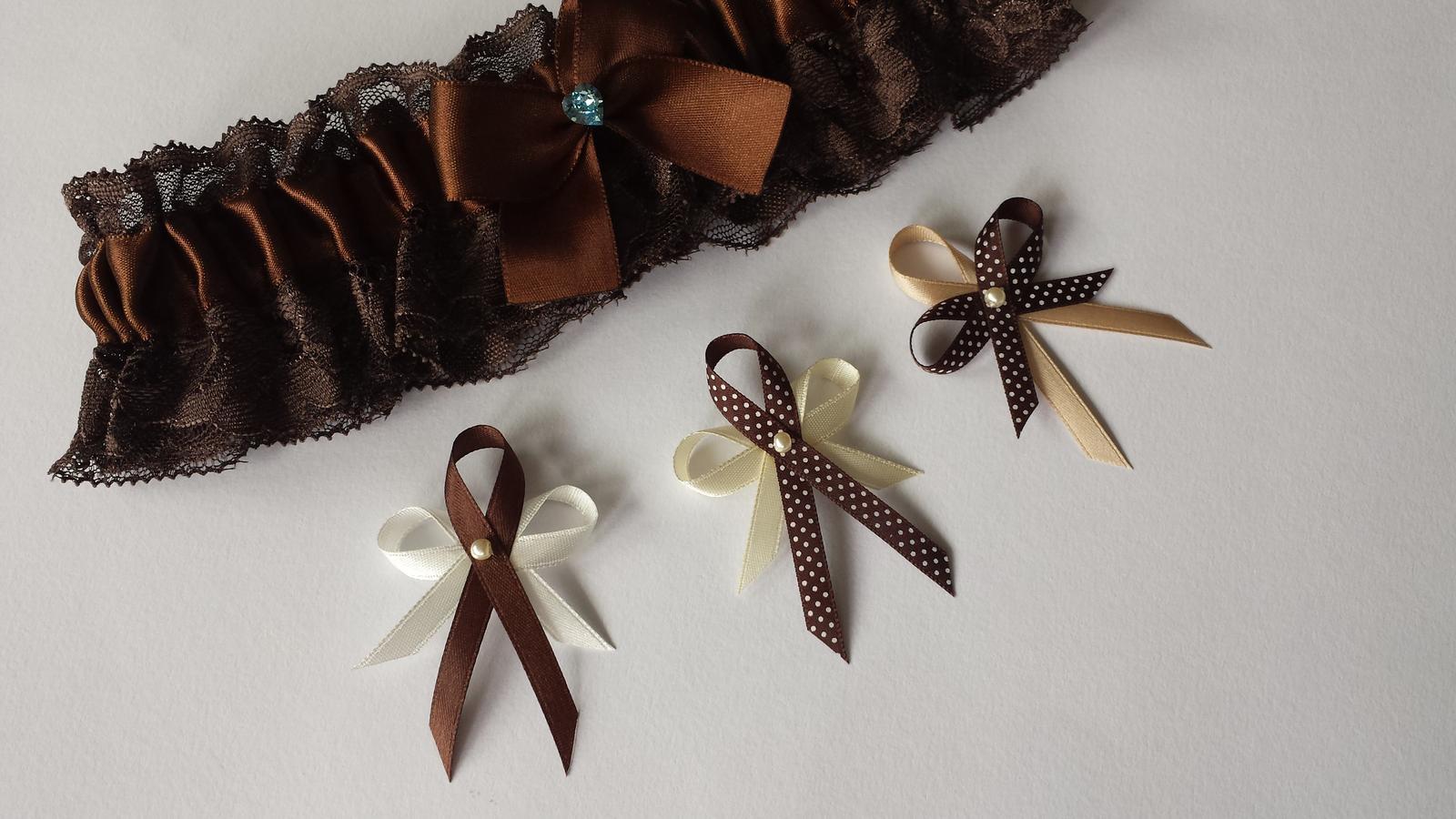 Puntíkaté čokoládové vývazky - Obrázek č. 2