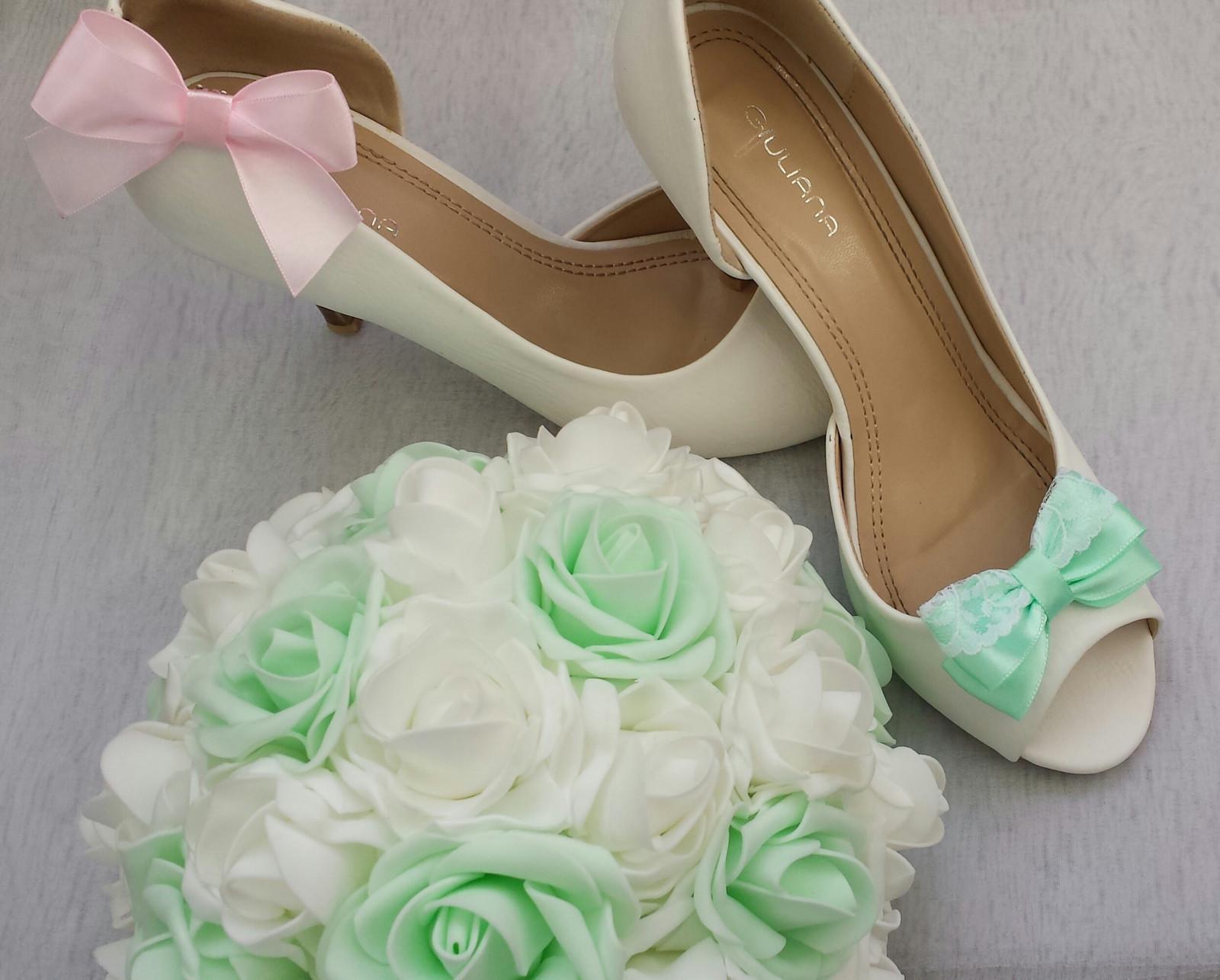 Klipy na boty s krajkou odstín dle přání  - Obrázek č. 2