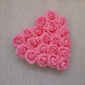 Srdce na kapotu růžové,