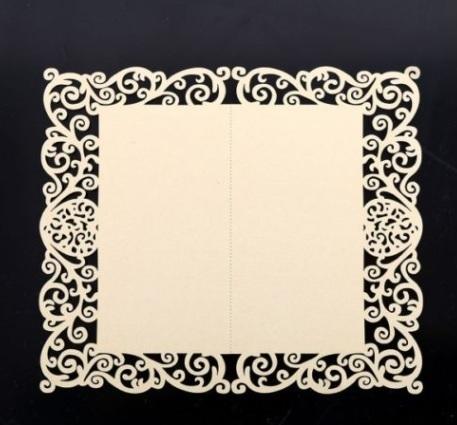 Svatební jmenovka bílá perleťová 21 ks - Obrázek č. 2