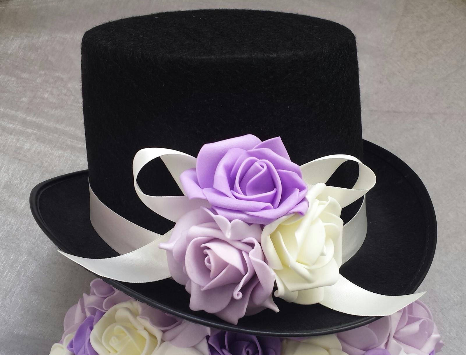 Cylindr na svatební auto odstíny fialové - Obrázek č. 1