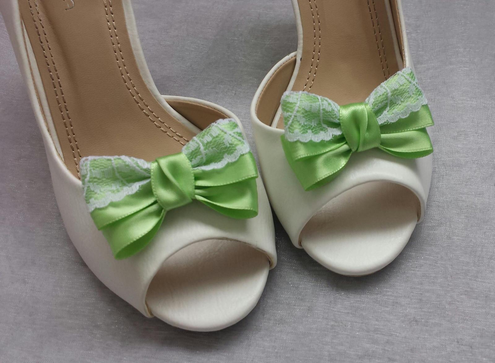 Klipy na boty s krajkou odstín dle přání - Obrázek č. 4