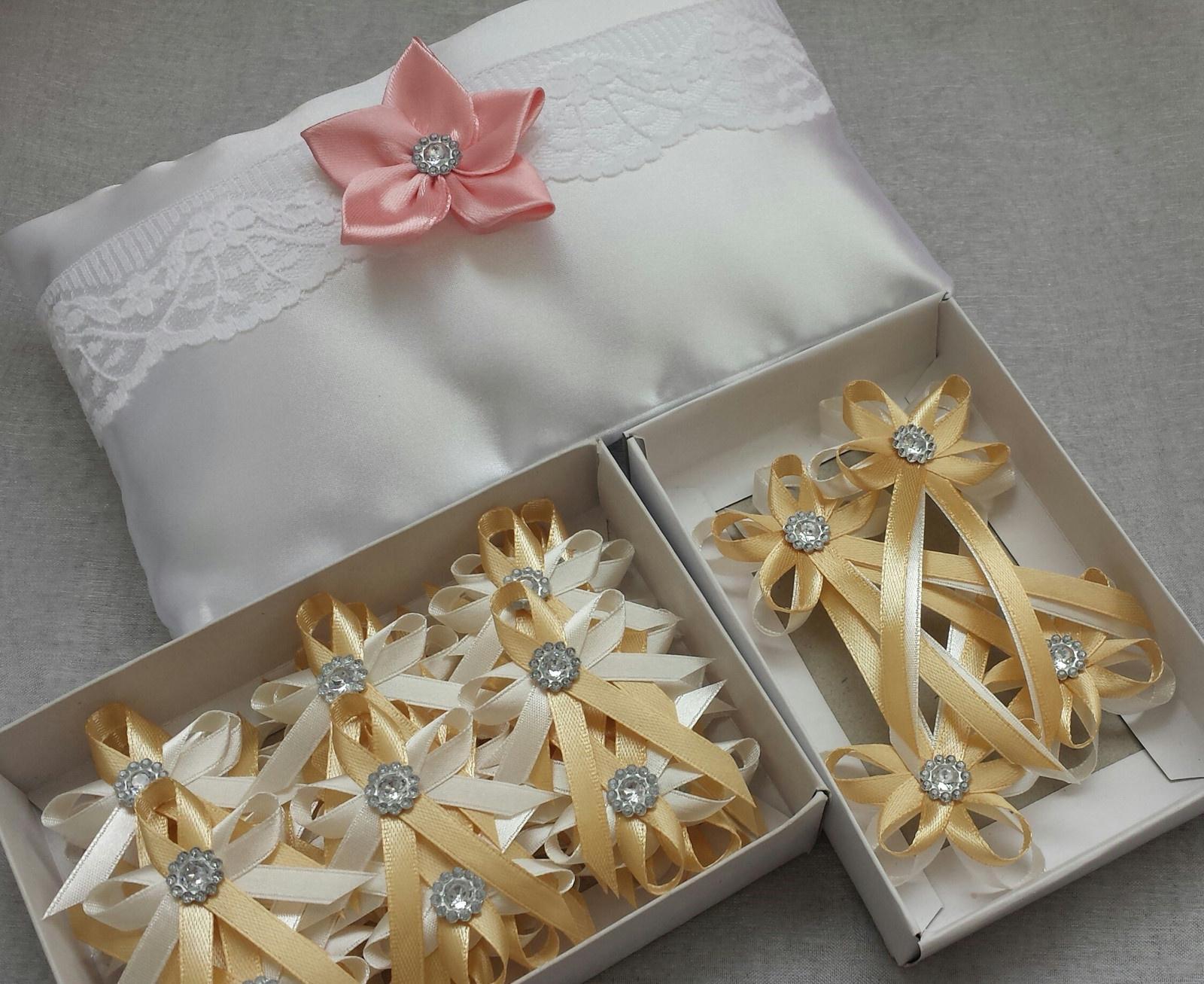 Velké zlaté svatební vývazky - Obrázek č. 1