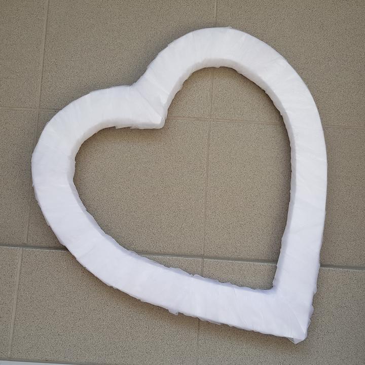 Srdce na kapotu bílé - Obrázek č. 1