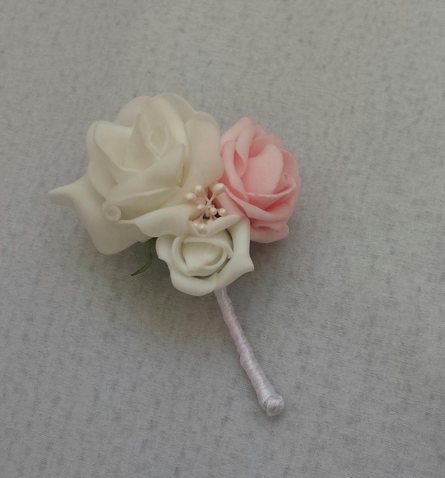 Cylindr na svatební auto - bílá/champagne - Obrázek č. 3