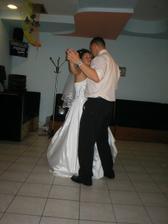 prvý tanec s manželom