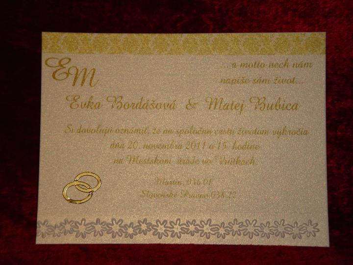 Naše prípravy na vysnívanú svadbičku :) - :)