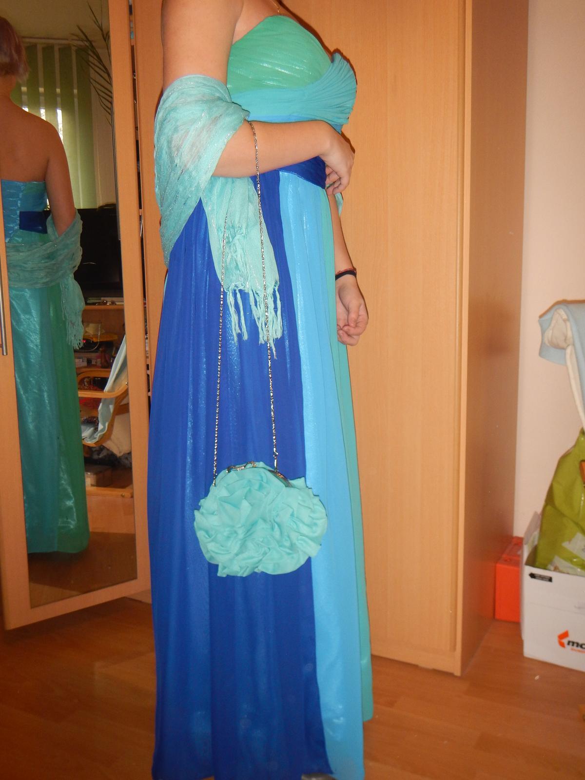 Spoločenské šaty s doplnkami - Obrázok č. 4