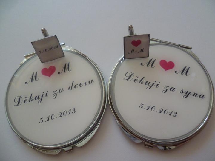 Holky nemáte náhodou některá shodu iniciálů a stejné datum svatby? Chtěla bych to prodat. Svatbu jsme bohužel zrušily =(. Moc děkuji piště do zpráv. - Obrázek č. 1