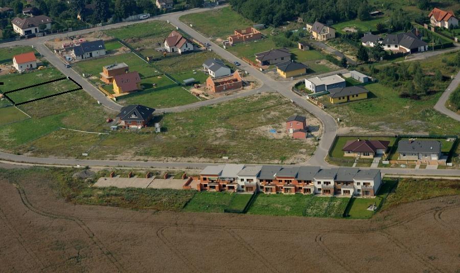 Stavba pasivního domu - Zde je místo našeho budoucího domova.