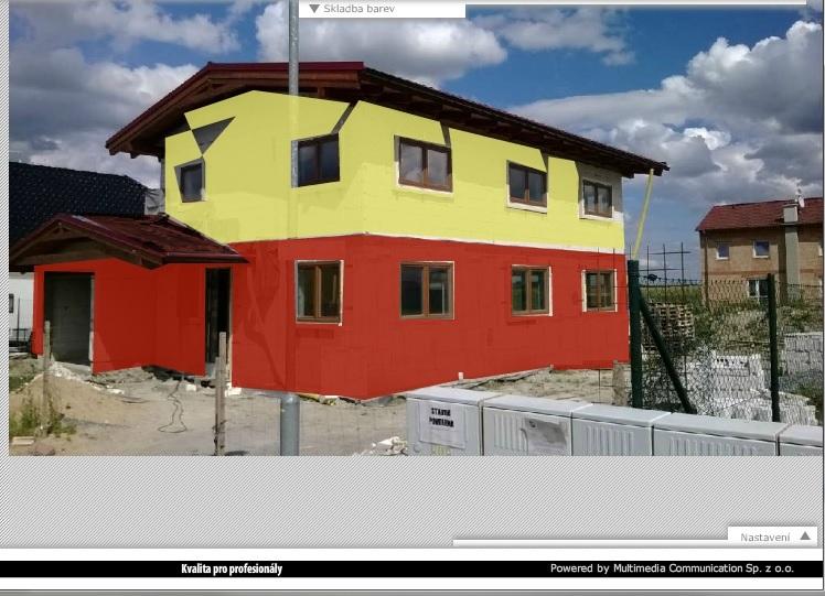 Akce fasáda aneb jak se při stavbě dělají kompromisy - Taky moc tmavá a do oranžova k tomu. Nehodí se ke střeše. Takže taky pryč.