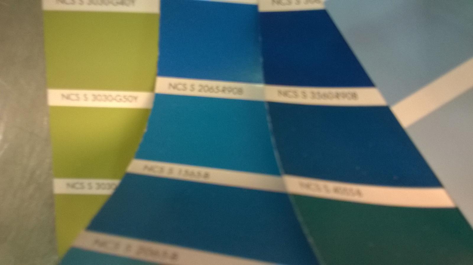 Stavba pasivního domu - vybírám paletu barev...