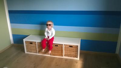 První kousek nábytku v pokojíčku hotovýýýý!