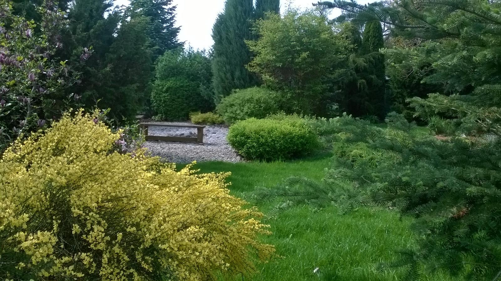 Mé nekonečné inspirace pro zahrádku - Kolem téhle zahrady chodím a prostě ji miluju. Je záhadná, překvapivá, přírodní a zároveň upravená. Nikdy nevíte, co Vás čeká na dalším kroku. Je opravdu zábavná.