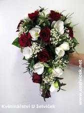 tuhle jsem vybrala, akorat bude z červených i bílích růží