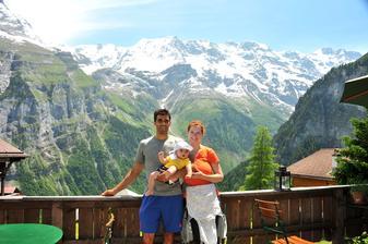 5. vyroci svatby, Gimmelwald, Svycarsko