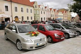 tady se chci pochlubit krásnou kytkou na autě :)