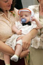 nejmladší svatebčan