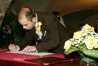 a už se upisujem, jako první ženich