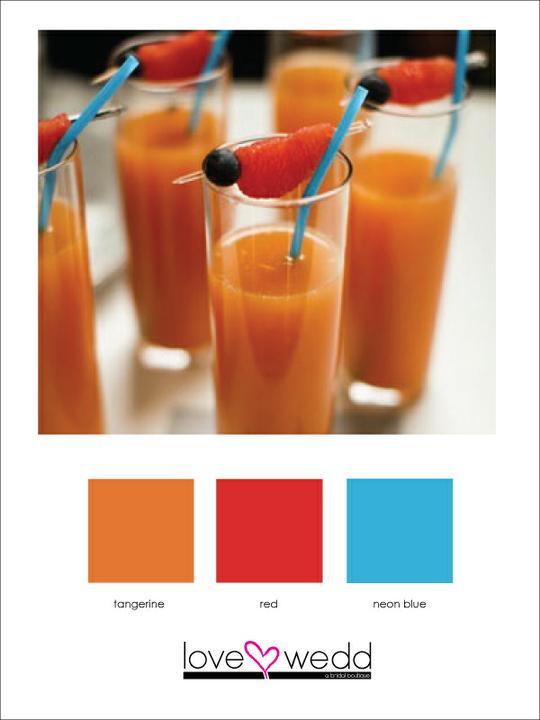 Wedding colour inspirations - Obrázek č. 7