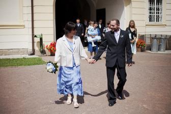 maminka a Roman-manžel