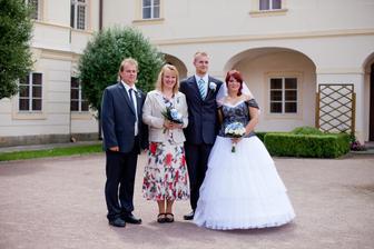 s Vojtovými rodiči