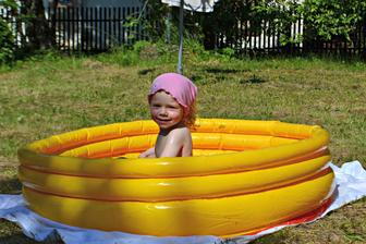 v bazénku je príma