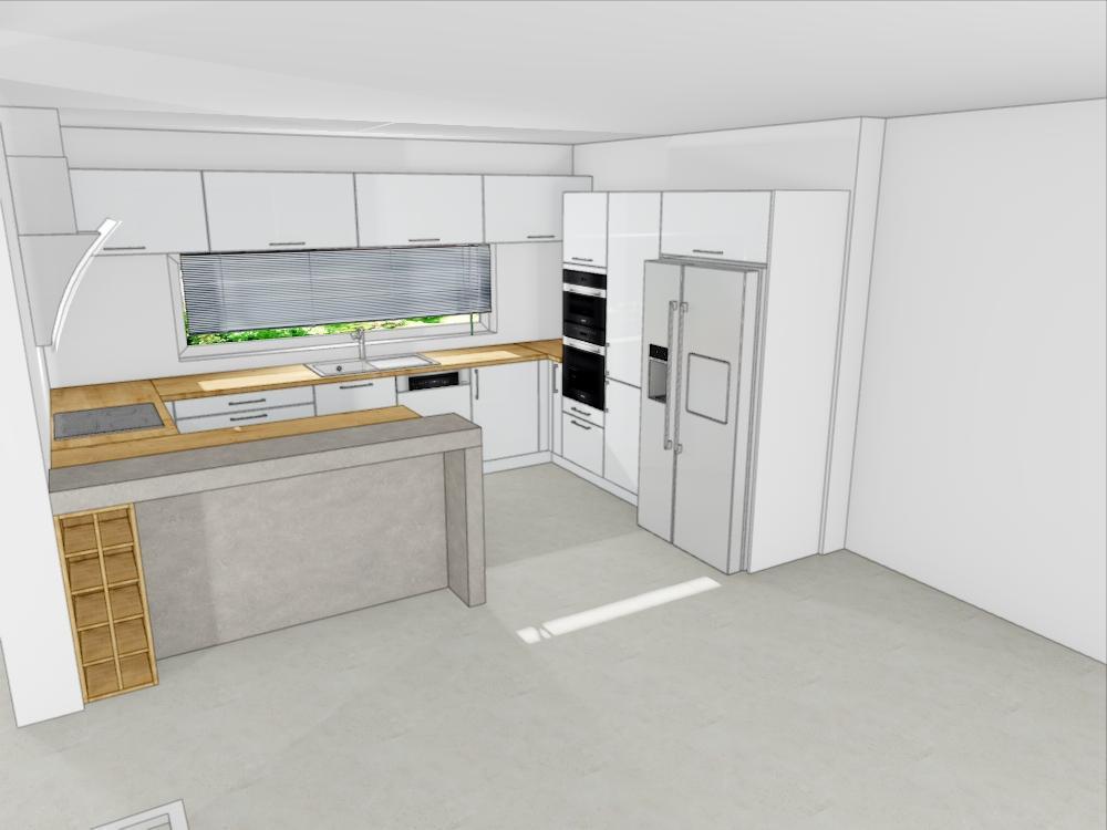 Návrh kuchyně - Obrázek č. 1