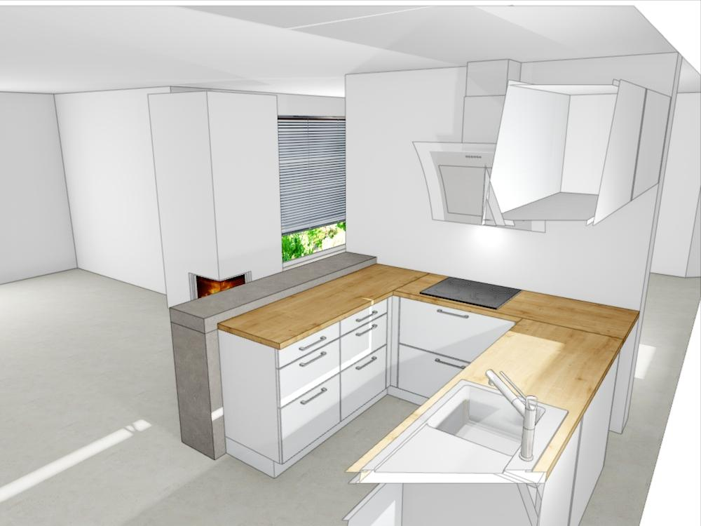 Návrh kuchyně - Obrázek č. 2