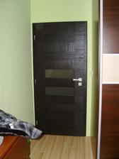 Dvere v spalni