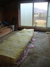 izolácia Rotaflex 0.039    20 + 18 cm strop   šikminy 20+ 16 cm